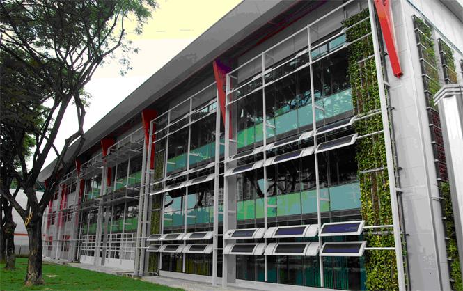 Zero Energy Building At Building Construction Authority