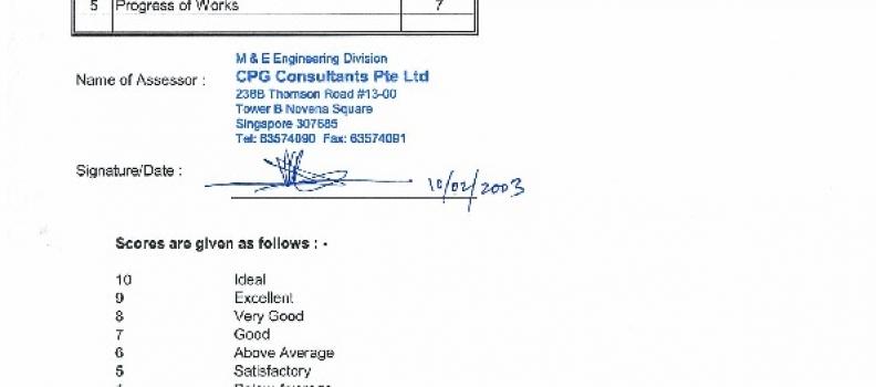 CPG Consultant MHA Thomson site performance