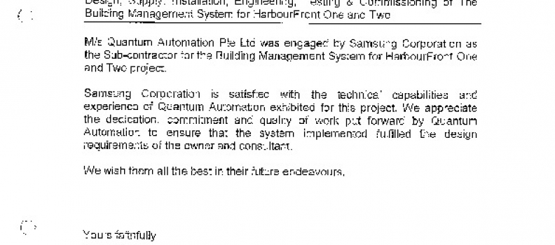 Samsung Corp Enggr HarbourFront Office (!)